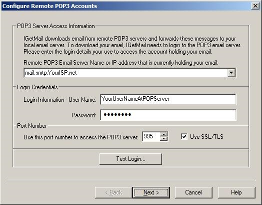 POP3 Email Forwarding is Easy with IGetMail - Installation Steps